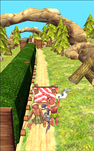 Bunny dash Vs Hunted jungle runner 2018  screenshots EasyGameCheats.pro 2
