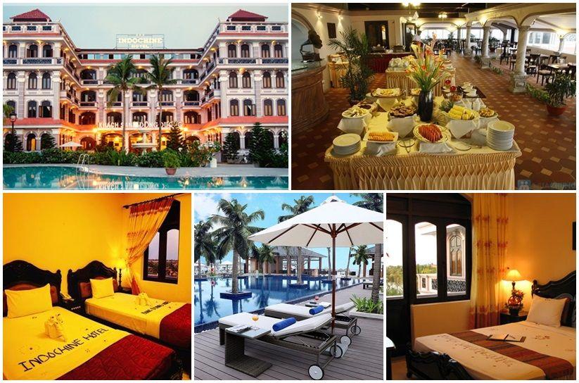Ảnh: khách sạn Indochine hội an