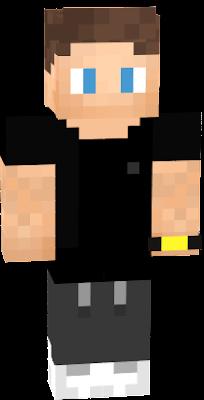 De zwarte Larsvdp skin