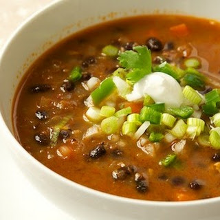 Easy Black-Bean Soup Recipe