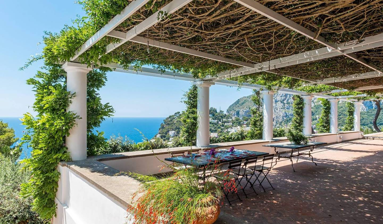 Villa avec piscine et jardin Capri