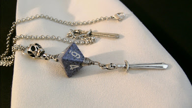 Photo: Periwinkle of Doom D8 necklace