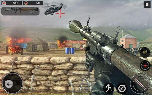 Frontline Army Ghost Mission - Anti-Terrorist Game apktreat screenshots 2