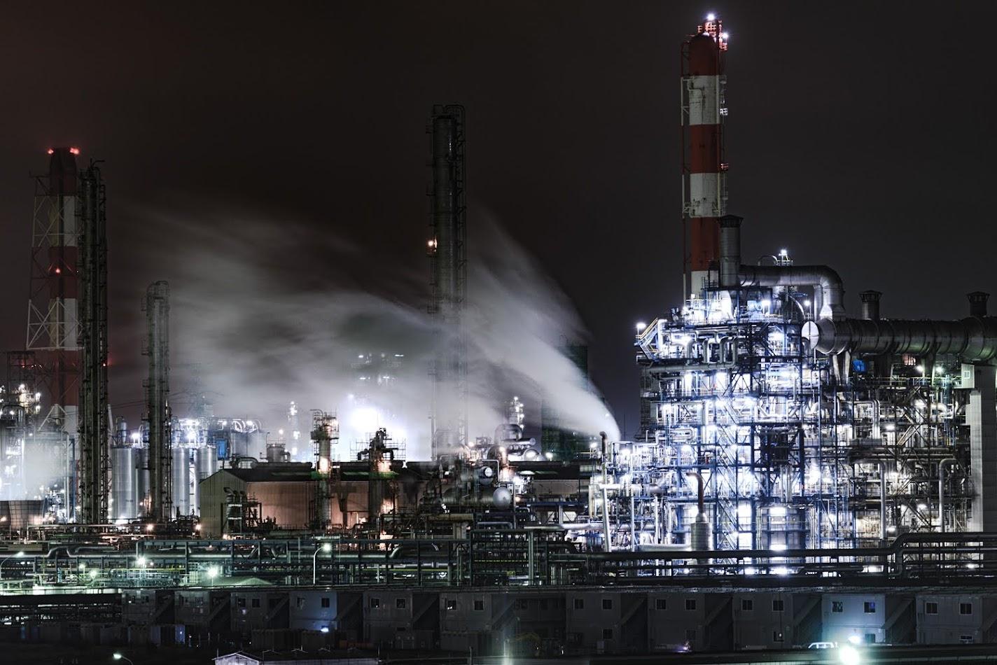 【旅6日目】真っ暗の「鹿島臨海工業地帯」でビビりながらも工場夜景の撮影に挑戦