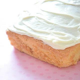 Plain Vanilla Cake.