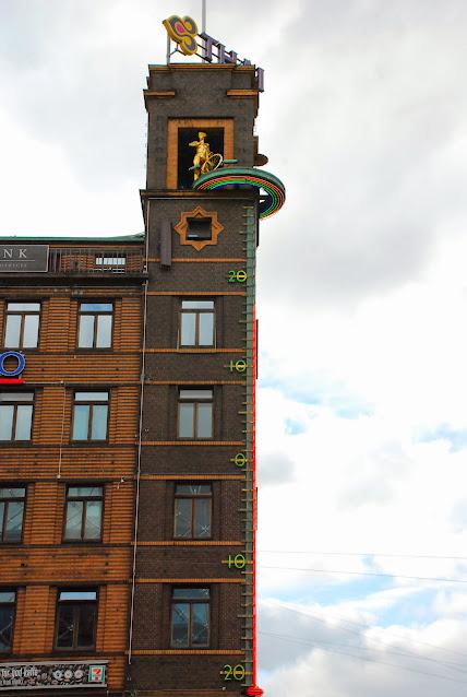 Termometru pe o clădire
