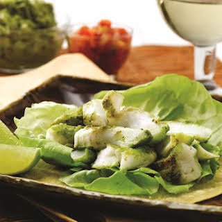 Southwestern Grilled Cod Tacos (includes oven directions).