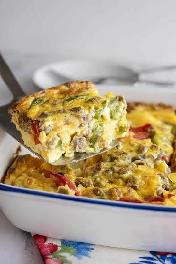 Easy Oven Omelet - Southern Plate