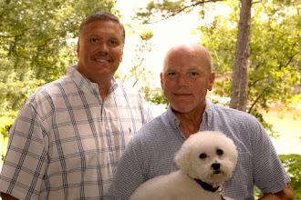 Photo: Gay Elopement Lake Hartwell Anderson, SC http://WeddingWoman.net