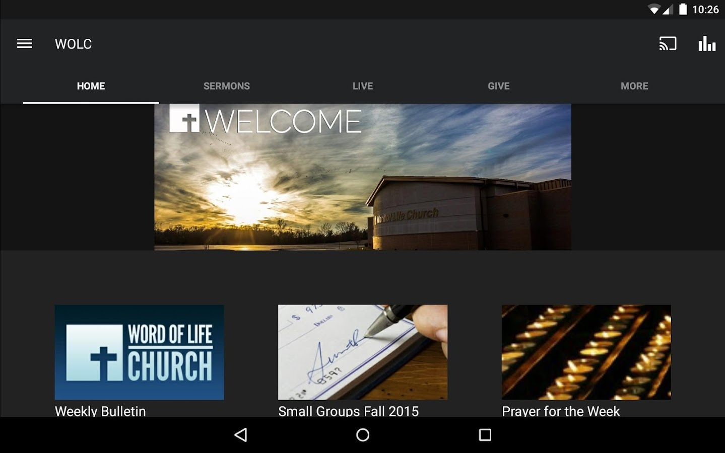 Word of Life Church St Joseph- screenshot