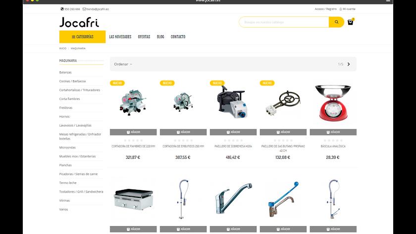 Tienda Online www.jocafri.es