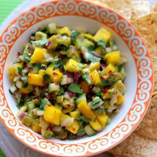Mango, Avocado and Cucumber Salsa