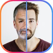 Face App Old Age: Face Changer Gender Swap Icon