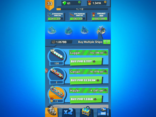 Idle Ship Tycoon: Port Manager Simulator apkmr screenshots 6