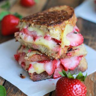 Strawberry Bruschetta Grilled Cheese