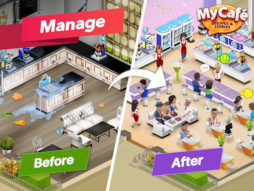 My Cafe u2014 Restaurant game apkdebit screenshots 7