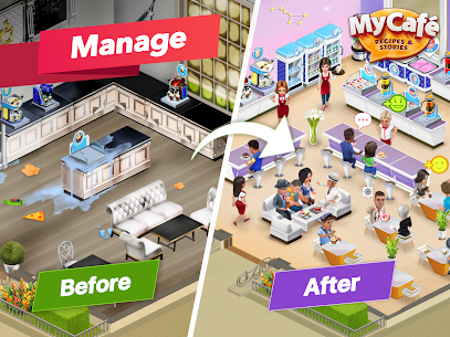 My Cafe Recipes & Stories Mod Apk 2020.12.1 (Unlimited Coins) 7