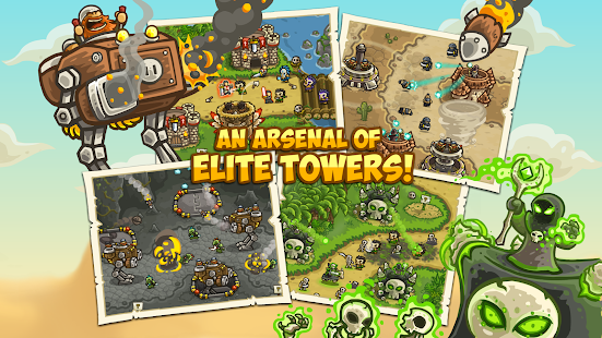 Kingdom Rush Frontiers 3.0.28 (Retail & Mod) Apk + Data