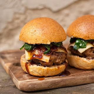 Hot Stout BBQ Sauce Burgers