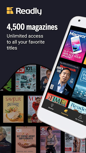 Readly - Unlimited Magazine Reading 4.9.4 Screenshots 1