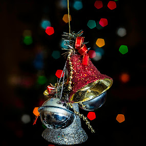 Holi-bells by Jerome Obille - Public Holidays Christmas ( bell, christmas, artistic, holidays, pwcbells-dq )