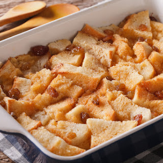 Budget Friendly Bread & Butter Pudding