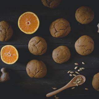 Orange, Ginger, and Cardamon, Mollasses Cookies