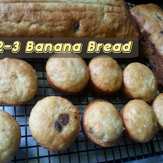 1-2-3 BANANA BREAD