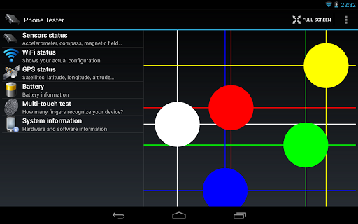 Phone Tester (hardware info) screenshot 13