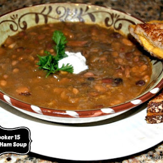 Filler Up With Fiber – Slow Cooker 15 Bean and Ham Hock Soup.