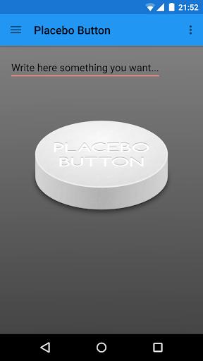 Placebo Button