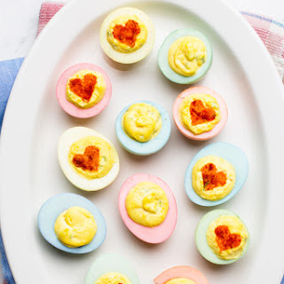 I Love Easter Deviled Eggs