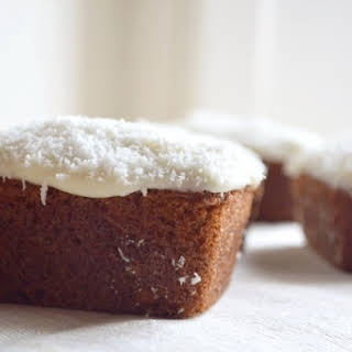 Mini Coconut And Carrot Cakes.