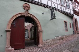 Photo: Der Eingang zum Museum in Miltenberg