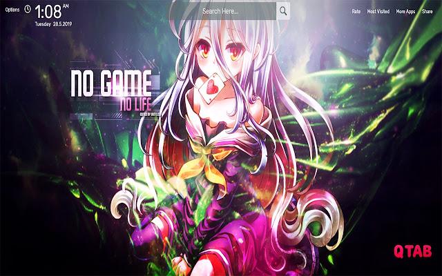 No Game No Life Wallpapers HD Theme