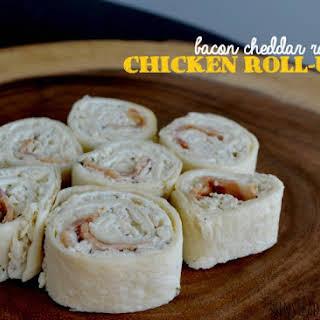 Bacon Cheddar Ranch Chicken Roll-Ups.