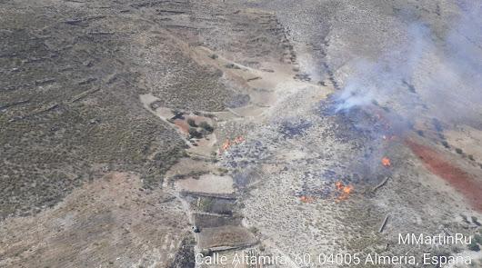 Controlado un incendio en Benizalón