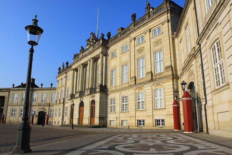 Amalienborg in Copenhagen is the winter home of the Danish Royal Family, with its four royal palaces.