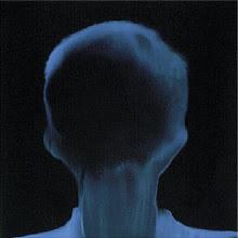 Photo: 15_Memoires photogramme 50x50cm sur papier bleu © Olivier Perrot 1996