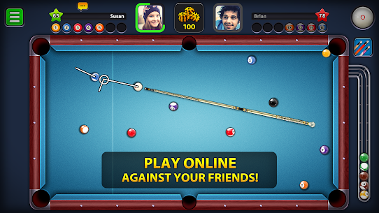 8 Ball Pool MOD (Extended Stick Guideline) 1