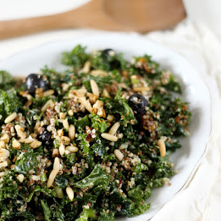 Massaged Kale Salad with Quinoa