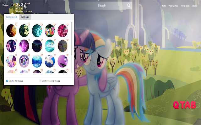 My Little Pony The Movie Wallpapers New Tab