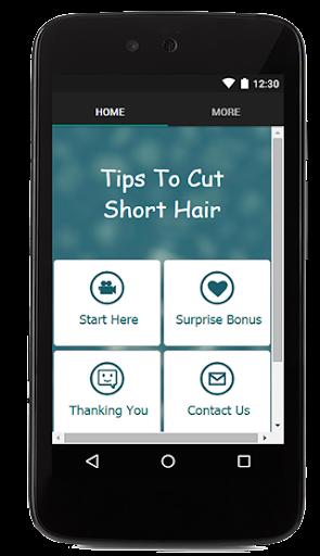 Tips To Cut SHort Hair