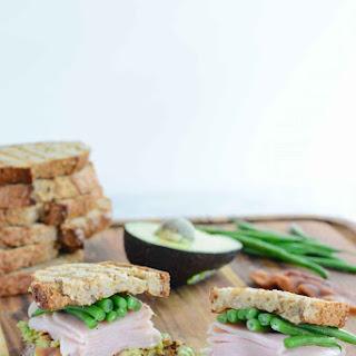 Green Bean Turkey Sandwich.