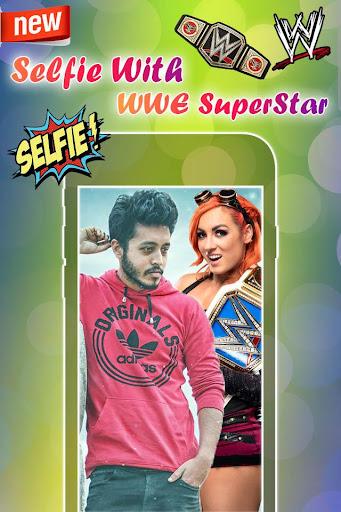 Selfie with WWE Superstars : WWE Photo Editor 2018 1.0 screenshots 5