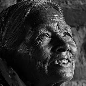 Happy by Debatosh Chakraborti - People Portraits of Women