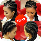 Braided hair style -  Braids Hairstyles for Black