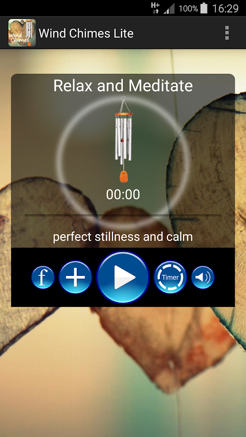 Wind Chimes Lite- screenshot