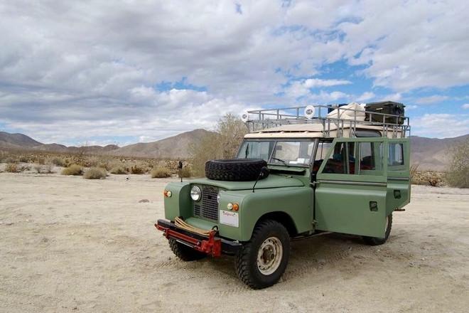 1967 Land Rover - Safari Truck Hire CA