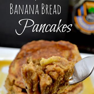 Healthy Banana Bread Pancakes.